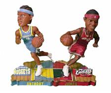 Lebron James/Carmello Anthony Bobblehead