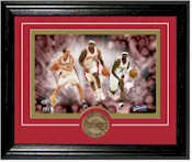 Cleveland Cavaliers Photo and Coin Framed